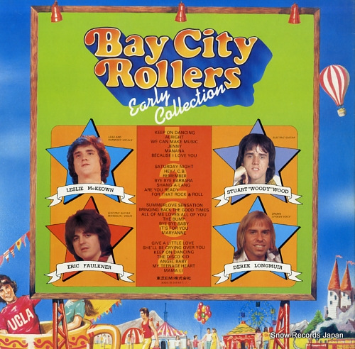 BAY CITY ROLLERS early collection IES-50011.12 - back cover