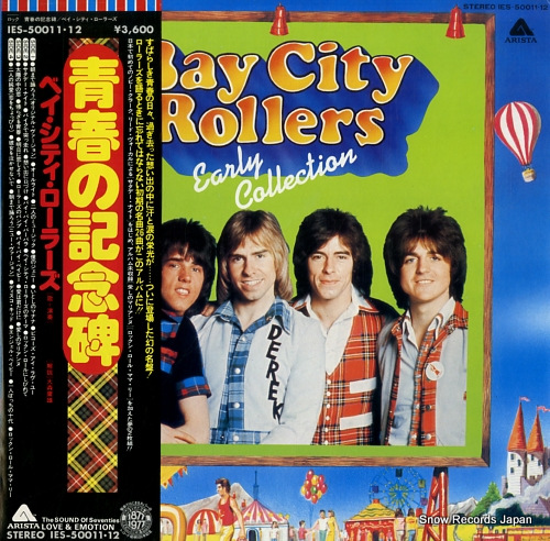 BAY CITY ROLLERS early collection IES-50011.12 - front cover
