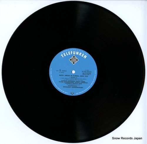 HARNONCOURT, NIKOLAUS bach; messe in h-moll, bwv232 K15C-9044/6 - disc