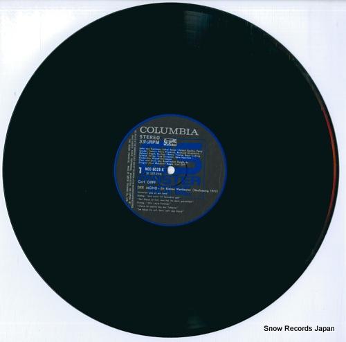 EICHHORN, KURT orff; der mond ein kleines welttheater NCC-8028-9-K - disc