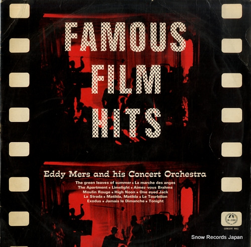 MERS, EDDY famous film hits M-2289 - front cover