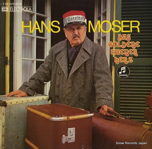 MOSER, HANS das goldene wiener herz 1C148-33101/02M - front cover