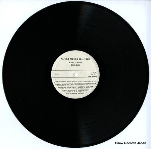 ANCONA, MARIO mario ancona 1860-1931 CO423 - disc