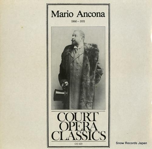 ANCONA, MARIO mario ancona 1860-1931 CO423 - front cover