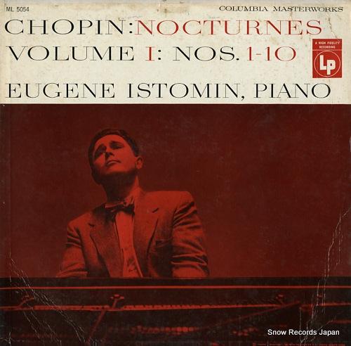 ユージン・イストミン chopin; nocturnes ML5054