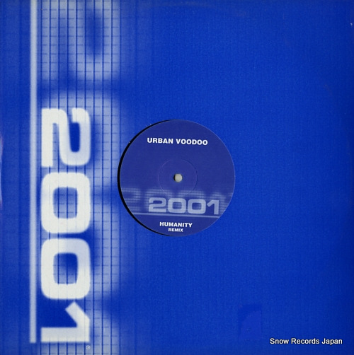 VOODOO, URBAN humanity remix TWO5067R-12 - front cover