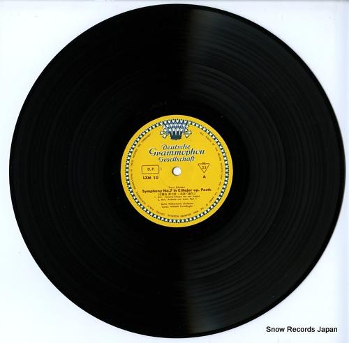 FURTWANGLER, WILHELM schubert; symphony no.7 c major LXM-10 - disc