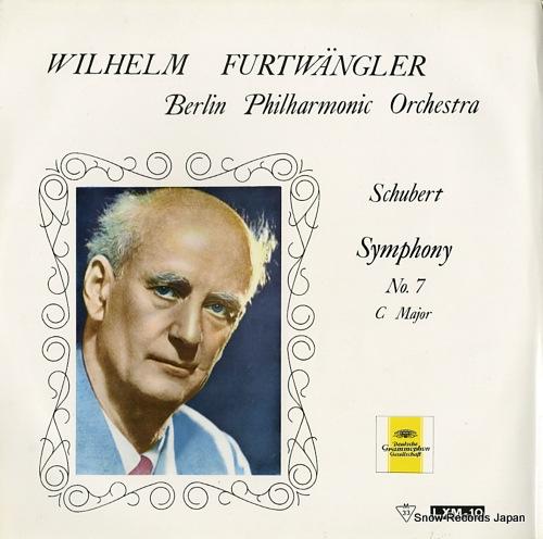 FURTWANGLER, WILHELM schubert; symphony no.7 c major LXM-10 - front cover