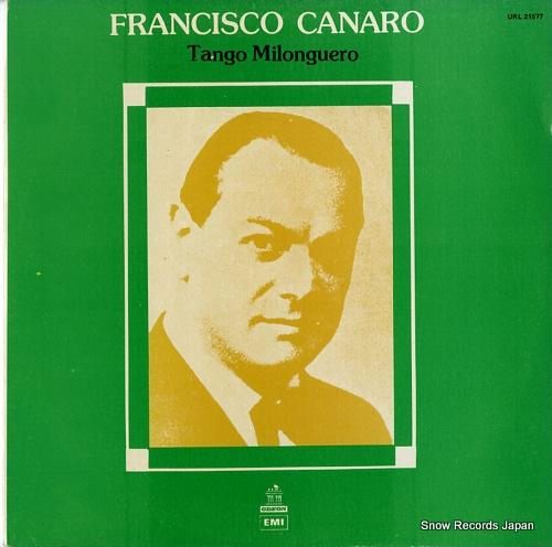 フランシスコ・カナロ tango milonguero URL21577