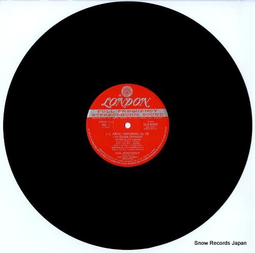 MUNCHINGER, KARL bach; sinfonias, op.18 SLA6069 - disc