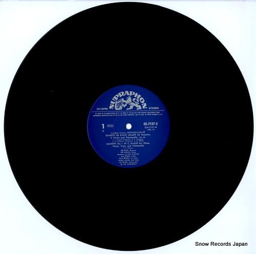 イジー・サイドル&イジー・ミフレ クロムメル・クラマーシュ:管と弦のための四重奏曲 OS-7137-S