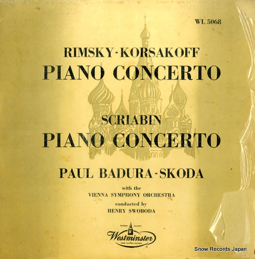 BADURA-SKODA, PAUL - rimsky-korsakov; concerto for piano and orchestra - WL5068