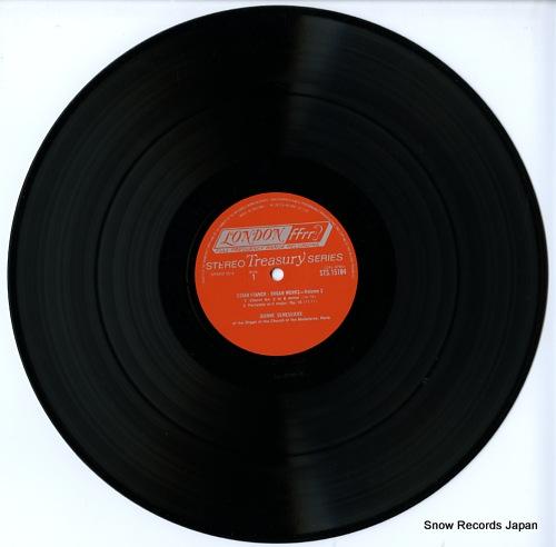 DEMESSIEUX, JEANNE franck; organ works volume two STS15104 - disc
