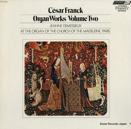 DEMESSIEUX, JEANNE franck; organ works volume two STS15104 - front cover
