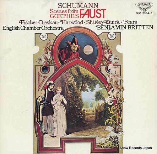 BRITTEN, BENJAMIN schumann; scenes from goethe's faust SLC2384-5 - front cover