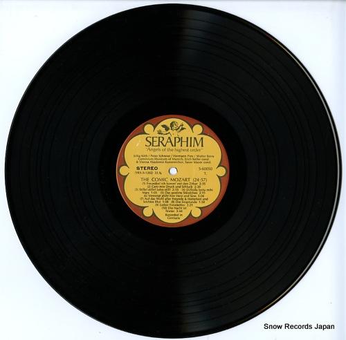 V/A the comic mozart satirical ensembles, arias and canons S-60050 - disc