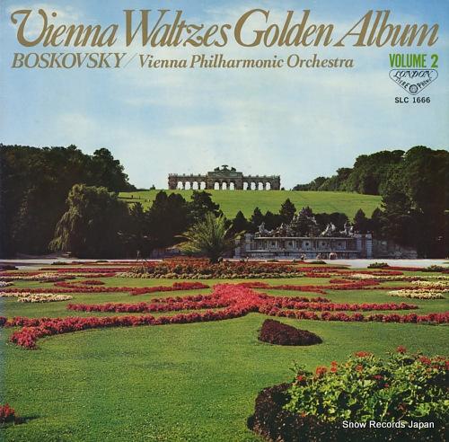 BOSKOVSKY, WILLI vienna waltzes golden album volume 2 SLC1666 - front cover