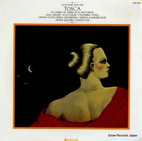 QUADRI, ARGEO puccini; tosca WGM0-8253/2 - front cover