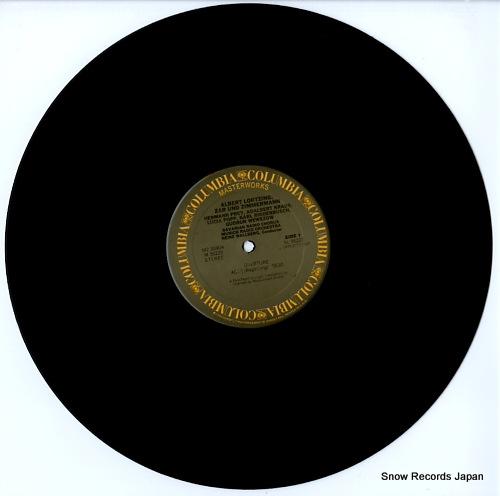 WALLBERG, HEINZ albert lortzing; zar und zimmermann M235904 - disc