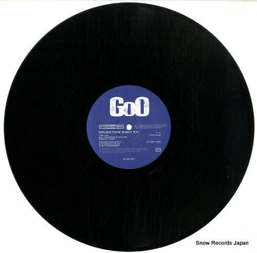 GOO drugstore b.boy ep SYNC001 - disc
