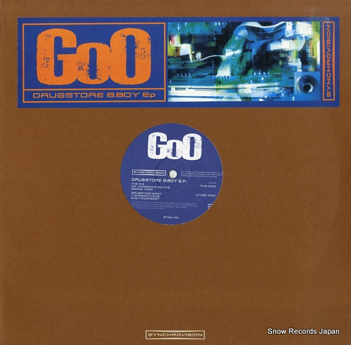 GOO drugstore b.boy ep SYNC001 - front cover