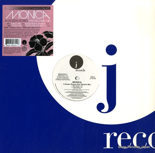 MONICA a dozen roses(you remind me) 82876-87641-1 - front cover