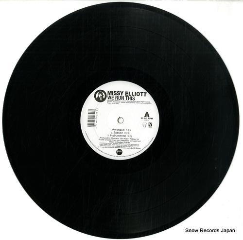 ELLIOTT, MISSY we run this / irresistible delicious 0-94030 - disc
