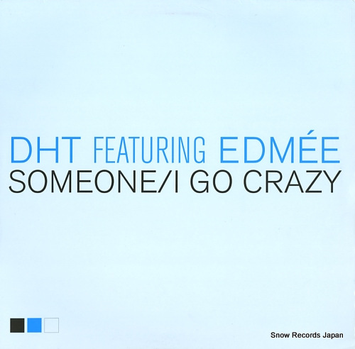 D.H.T. someone / i go crazy DATA127P1 - front cover