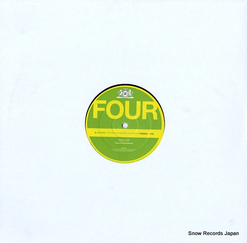 V/A four CCC504 - back cover