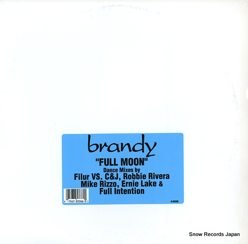 BRANDY full moon 0-85366 - front cover