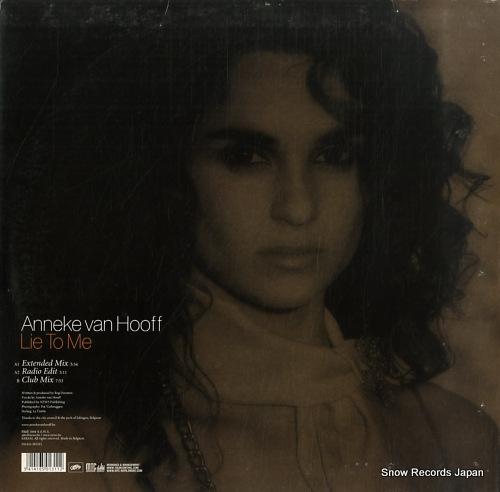HOOFF, ANNEKE VAN lie to me 541416501311 - back cover