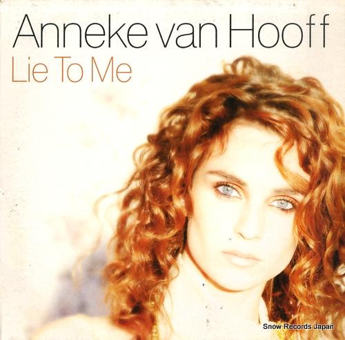 HOOFF, ANNEKE VAN lie to me 541416501311 - front cover