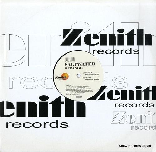 SALTWATER strange ZENITH003 - back cover