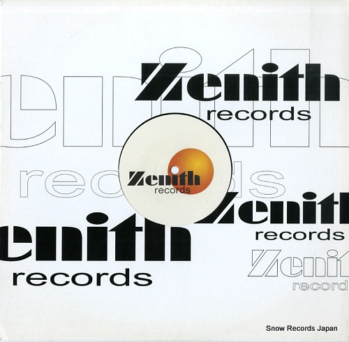 SALTWATER strange ZENITH003 - front cover