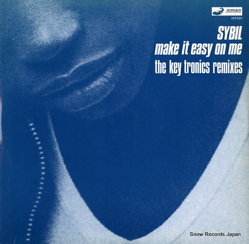 SYBIL make it easy on me (the key tronics remixes) ICP501 - front cover