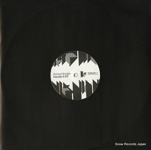 DINSDALE, RICHARD handle it ep TRT38V - back cover