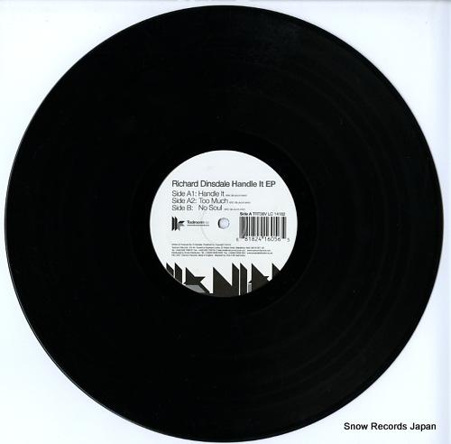 DINSDALE, RICHARD handle it ep TRT38V - disc