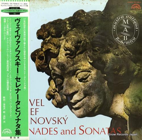 PESEK, LIBOR vejvanovsky; serenades and sonatas OS-7048-S - front cover