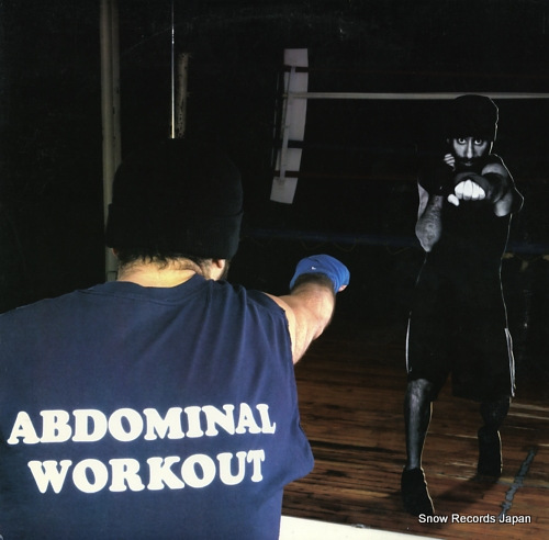 ABDOMINAL abdominal workout BAD-058 - front cover
