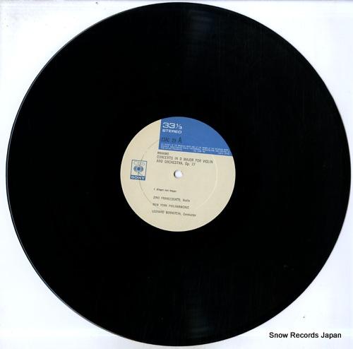 FRANCESKATTI, ZINO brahms; violin concerto in d major, op.77 13AC29 - disc