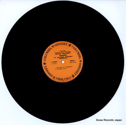WALTER, BRUNO bruno walter's wagner Y30667 - disc