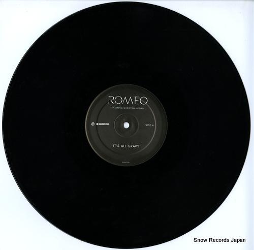 ROMEO it's all gravy RELENT32TP - disc