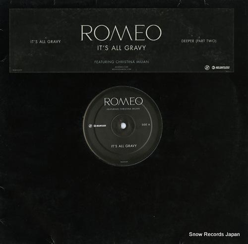 ROMEO it's all gravy RELENT32TP - front cover