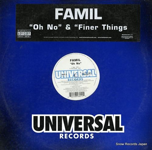 FAMIL oh no B0000757-11 - front cover