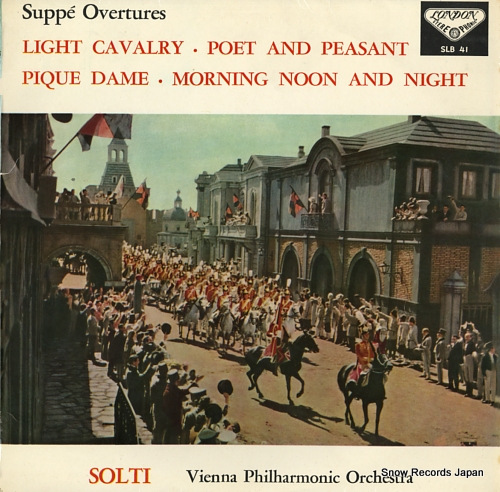 SOLTI, GEORG suppe; overtures SLB41 - front cover