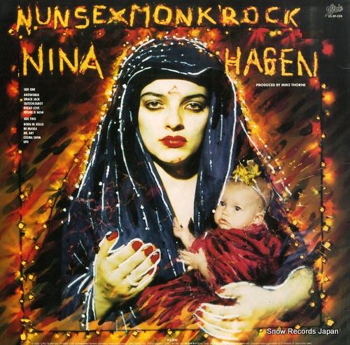 ニーナ・ハーゲン ナン・セックス・モンク・ロック 25.3P-359