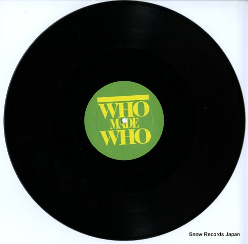WHOMADEWHO space for rent(remixes) GOMMA067 - disc