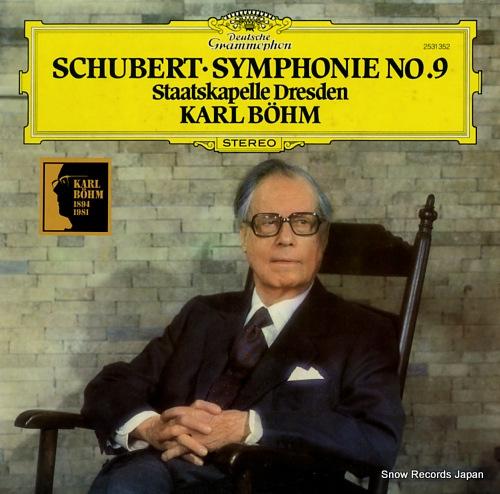 bohm karl schubert; symphonie no.9