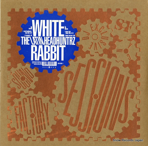 LATIN HEADHUNTRZ white rabbit SFAC-9001-1 - front cover