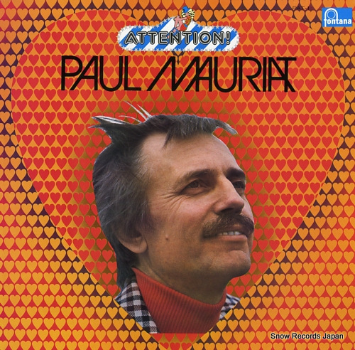 MAURIAT, PAUL attention! PAT-1 - front cover